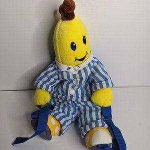 Bananas in Pyjamas plush backpack